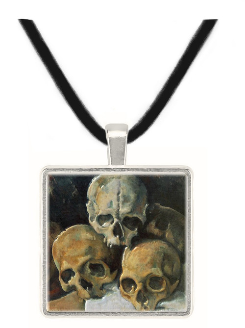 Cézanne's Pyramid of Skulls Pendant - Paul Cezanne, 1901 - Museum Store Company Photo
