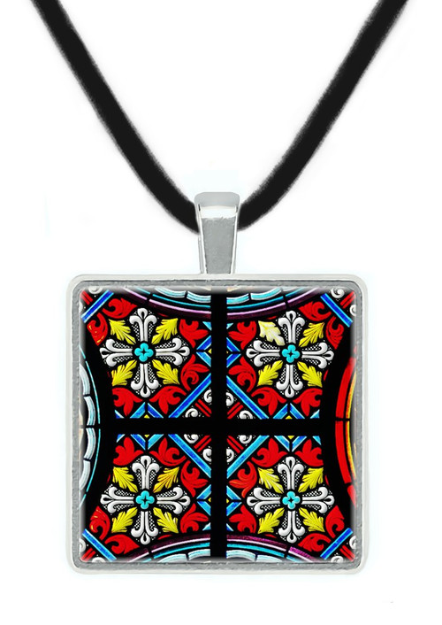 Medieval Stained Glass Pendant, Middle Ages, Europe - Museum Store Company Photo