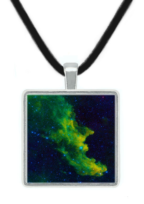 Witch Head Nebula Space Pendant, NASA, STSci Sky Survey - Museum Store Company Photo