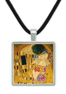 Klimt's The Kiss Pendant - Gustav Klimt, 1908 - Museum Store Company Photo