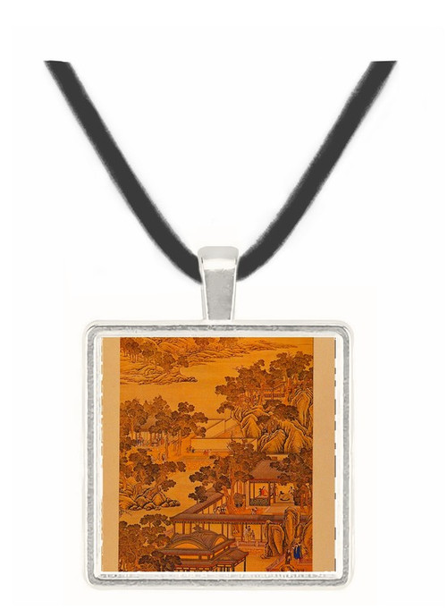 11th Month - Tang Tai and Ting Kuan peng -  Museum Exhibit Pendant - Museum Company Photo