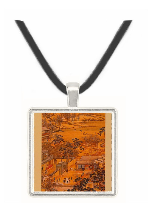 12th Month - T. Michau -  Museum Exhibit Pendant - Museum Company Photo
