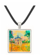 14 July in Auvers by Van Gogh -  Museum Exhibit Pendant - Museum Company Photo