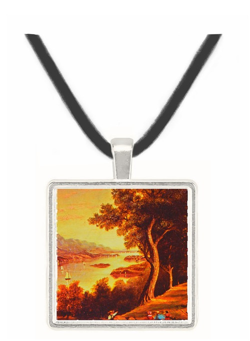 19th Century Hudson River Scene - American School -  Museum Exhibit Pendant - Museum Company Photo
