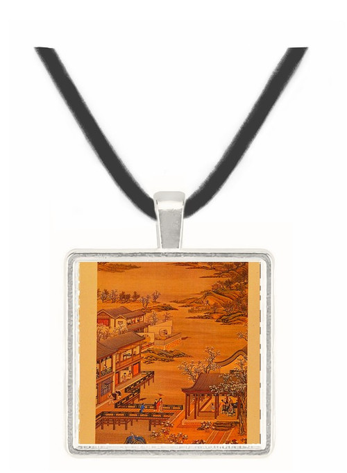 4th Month - Tang Tai and Ting Kuan peng -  Museum Exhibit Pendant - Museum Company Photo