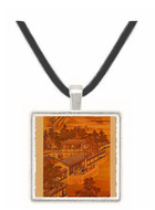 7th Month - Tang Tai and Ting Kuan peng -  Museum Exhibit Pendant - Museum Company Photo