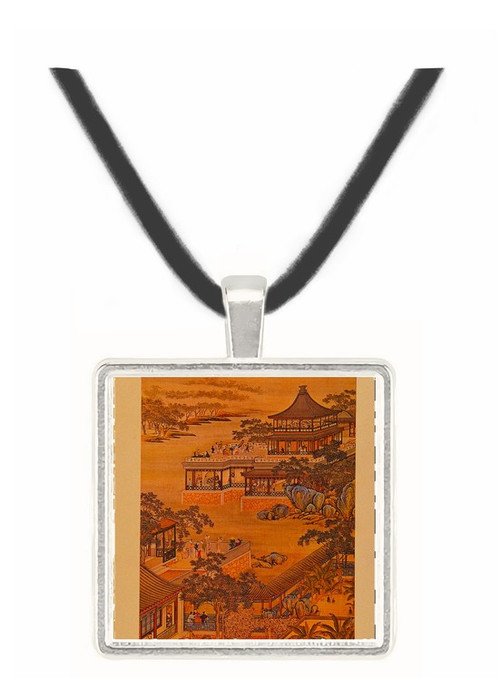 8th Month - Tang Tai and Ting Kuan peng -  Museum Exhibit Pendant - Museum Company Photo