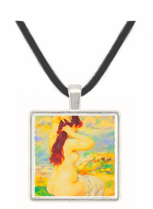 A Bather by Renoir -  Museum Exhibit Pendant - Museum Company Photo