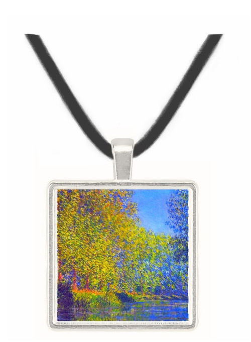 A Bend in the Epte Giverny by Monet -  Museum Exhibit Pendant - Museum Company Photo