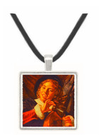 A Boy with a Lute - Franz Hals -  Museum Exhibit Pendant - Museum Company Photo