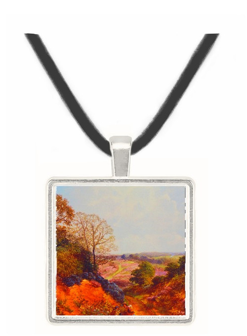 A Country Lane - James Edwin Meadows -  Museum Exhibit Pendant - Museum Company Photo