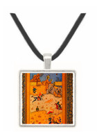A King Watching a Battle - unknown artist -  Museum Exhibit Pendant - Museum Company Photo