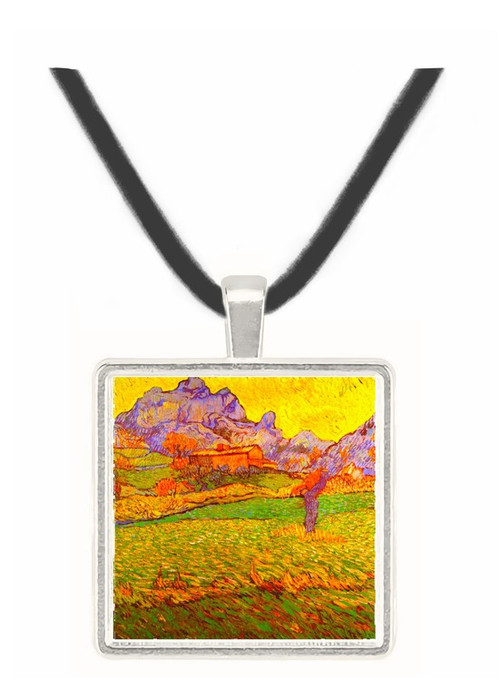 A Meadow in the Mountains Le Mas de Saint-Paul -  Museum Exhibit Pendant - Museum Company Photo