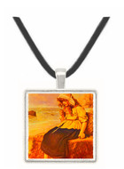 A Message from the Sea - Sir John Everett Millais -  Museum Exhibit Pendant - Museum Company Photo