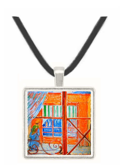 A Pork-Butchers Shop Seen from a Window -  Museum Exhibit Pendant - Museum Company Photo