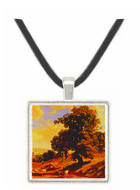 A Quiet Valley - Albert Bierstadt -  Museum Exhibit Pendant - Museum Company Photo