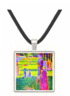 A Sunday on La Grande Jatte, study for a pair by Seurat -  Museum Exhibit Pendant - Museum Company Photo