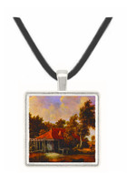 A Watermill - Meindert Hobbema -  Museum Exhibit Pendant - Museum Company Photo