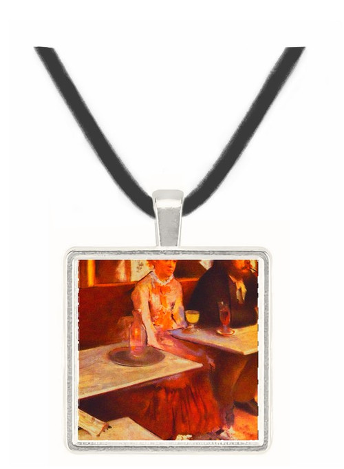 Absinth drinkers - Edgar Degas -  Museum Exhibit Pendant - Museum Company Photo