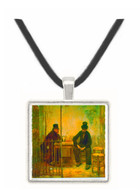 Absinthe Drinkers by Raffaelli -  Museum Exhibit Pendant - Museum Company Photo