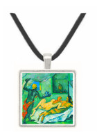 After lunch in Naples by Cezanne -  Museum Exhibit Pendant - Museum Company Photo