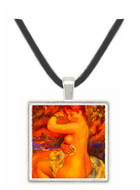 After the bath by Renoir -  Museum Exhibit Pendant - Museum Company Photo