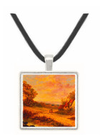 Afternoon Stroll - Ludwig Knaus -  Museum Exhibit Pendant - Museum Company Photo