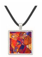 Agony (The Death Struggle) by Egon Schiele -  Museum Exhibit Pendant - Museum Company Photo