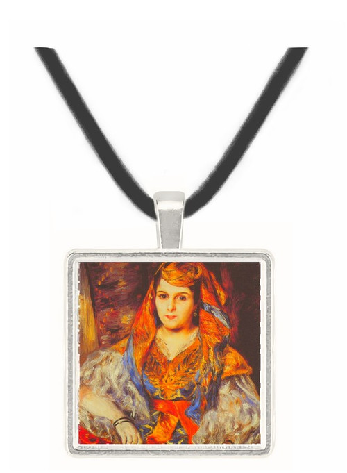 Algerian Woman by Renoir -  Museum Exhibit Pendant - Museum Company Photo