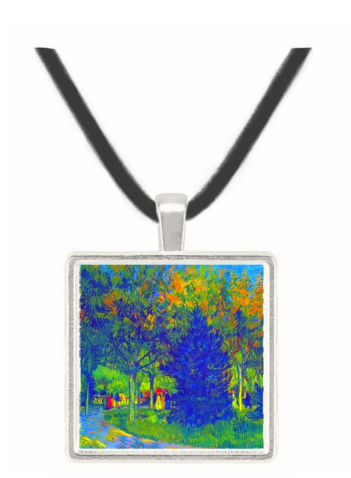 Allee in the Park by Van Gogh -  Museum Exhibit Pendant - Museum Company Photo