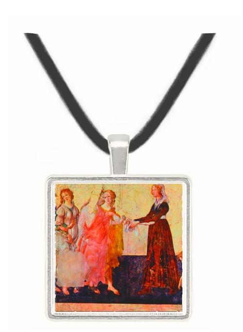 Allegorie Nuptiale - Sandro Botticelli -  Museum Exhibit Pendant - Museum Company Photo