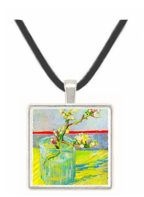 Almond Blossom branch by Van Gogh -  Museum Exhibit Pendant - Museum Company Photo