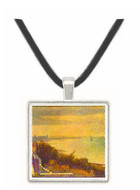 An Evening in Grand Camp by Seurat -  Museum Exhibit Pendant - Museum Company Photo