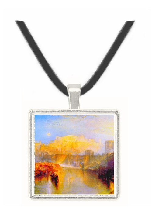 Ancient Rome_ Agrippina lands with the ashes of Germanicus by Joseph Mallord Turner -  Museum Exhibit Pendant - Museum Company Photo