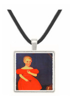 Andrew Jackson Ten Broeck (1834) - Ammi Phillips -  Museum Exhibit Pendant - Museum Company Photo