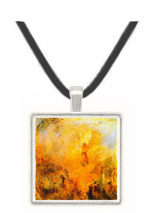 Angel in the sun by Joseph Mallord Turner -  Museum Exhibit Pendant - Museum Company Photo
