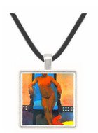 Anna the Java Woman by Gauguin -  Museum Exhibit Pendant - Museum Company Photo