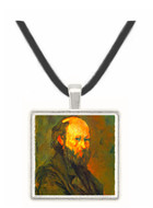 Another Self Portrait by Cezanne -  Museum Exhibit Pendant - Museum Company Photo