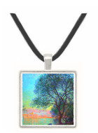Antibes seen from La Salis by Monet -  Museum Exhibit Pendant - Museum Company Photo