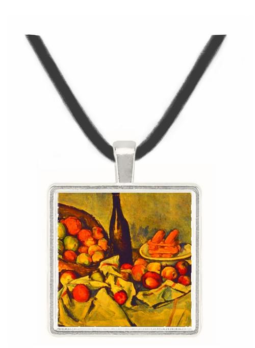 Apple Basket - Paul Cezanne -  Museum Exhibit Pendant - Museum Company Photo