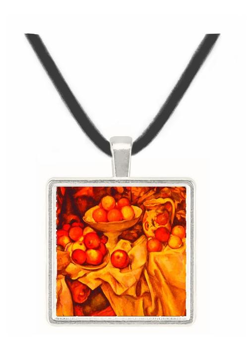 Apples and Oranges - Paul Cezanne -  Museum Exhibit Pendant - Museum Company Photo