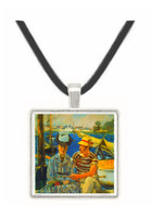 Argenteuil by Manet -  Museum Exhibit Pendant - Museum Company Photo