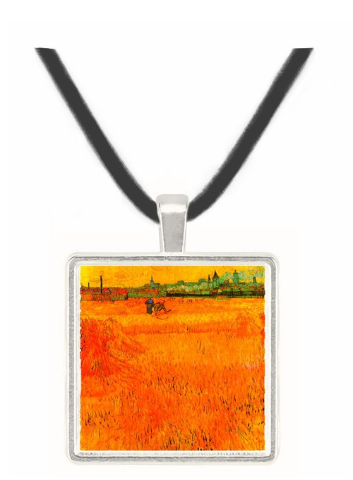 Arles View from the Wheat Fields -  Museum Exhibit Pendant - Museum Company Photo
