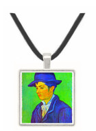 Armand Roulin by Van Gogh -  Museum Exhibit Pendant - Museum Company Photo