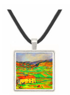 Around Gardanne by Cezanne -  Museum Exhibit Pendant - Museum Company Photo