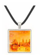 Arrival of boat, Cologne by Joseph Mallord Turner -  Museum Exhibit Pendant - Museum Company Photo
