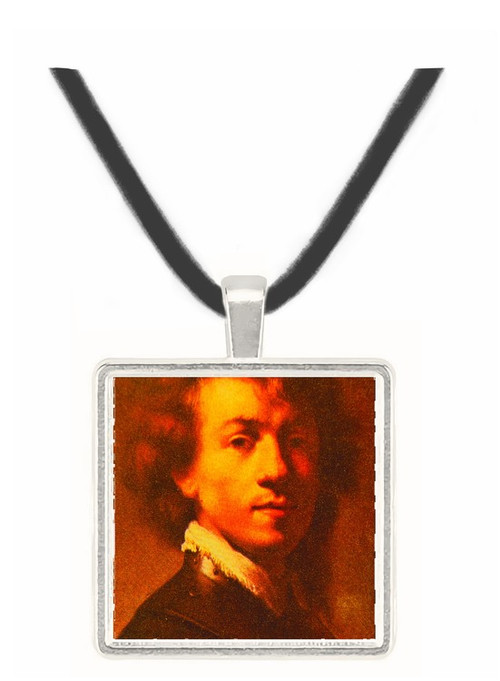 Artist as a Young Man - Rembrandt Harmenszoon van Rijn -  Museum Exhibit Pendant - Museum Company Photo