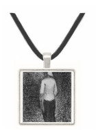 Artist by Seurat -  Museum Exhibit Pendant - Museum Company Photo