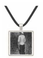 Artist by Seurat -  Museum Exhibit Pendant - Museum Company Photo