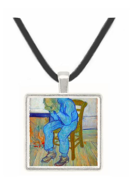 At Eternity's Gate by Van Gogh -  Museum Exhibit Pendant - Museum Company Photo